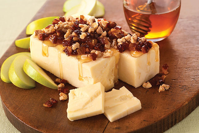 Cheese with Nuts and Honey