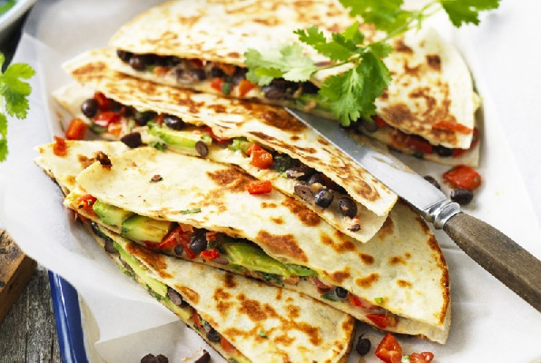 Avocado and Cheese Quesadilia